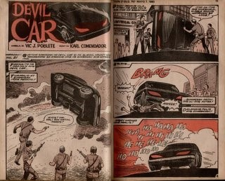 ghost rider devil car marvel comics