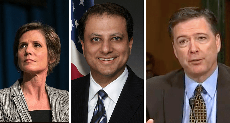 ghosts of donald trumps past haunt him yates preet bharara and james comey
