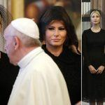 ivanka melania trump in black for pop