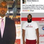 james harden under fire from moses malone jr for attack 2017 images