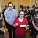 kim davis has a day in court for banning same sex couple