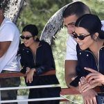 kourtney kardashian working younes bendjima 2017