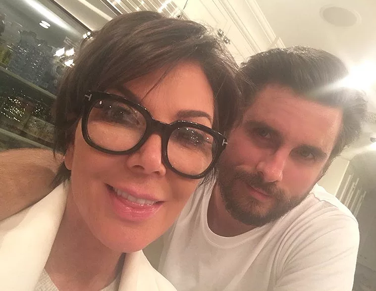 kris jenner and scott disick get real estate reality show banging 2017 images
