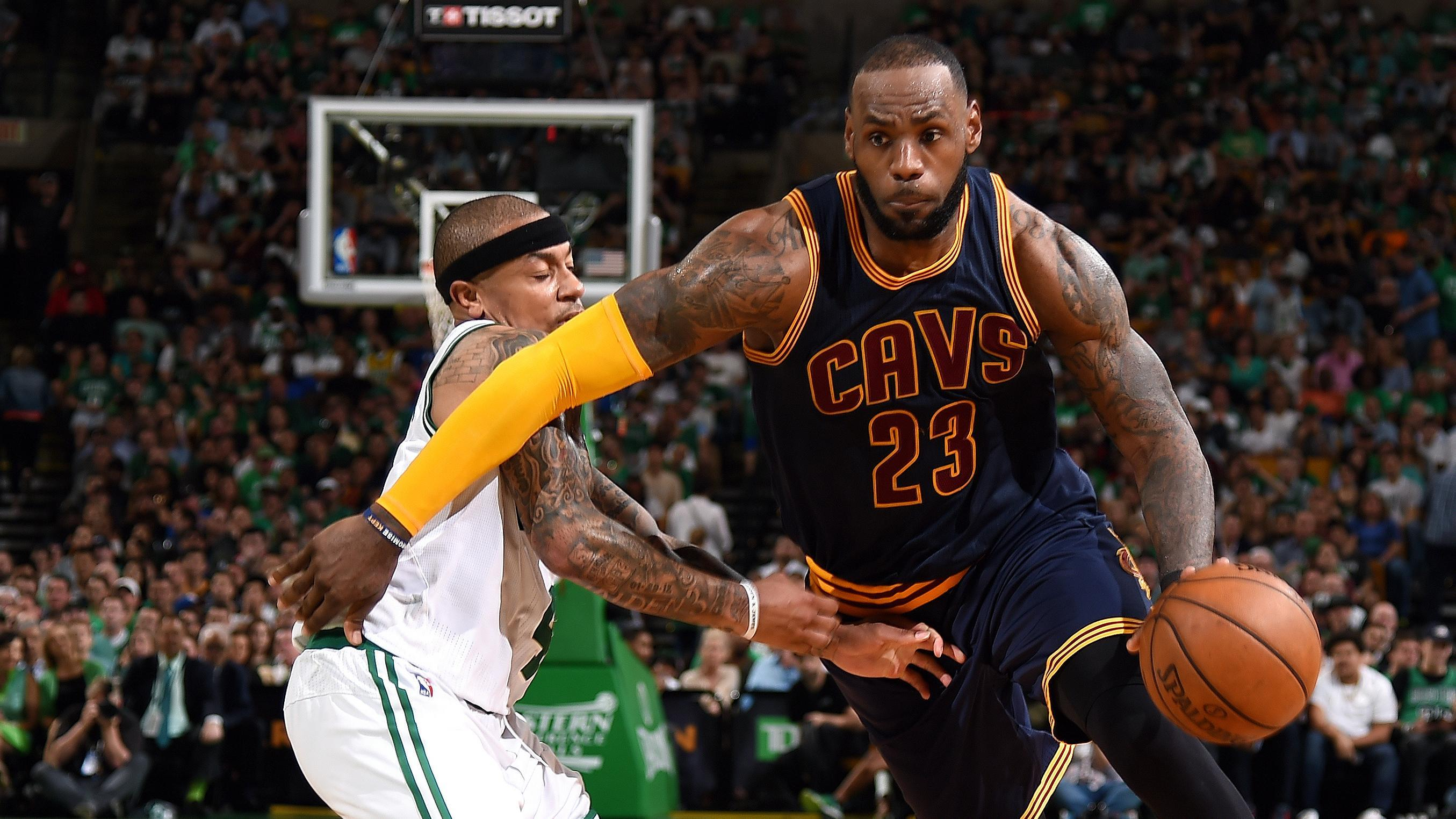 Lebron James passes Michael Jordan as all-time National Basketball Association playoff scorer