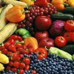 luscious fruits vegetables
