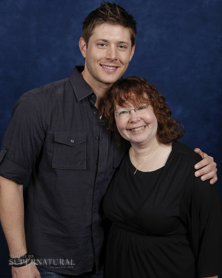 lynn zubernis with jared padalecki jensen ackles movie tv tech geeks