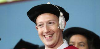 mark zuckerberg harvard honorary graduate 2017