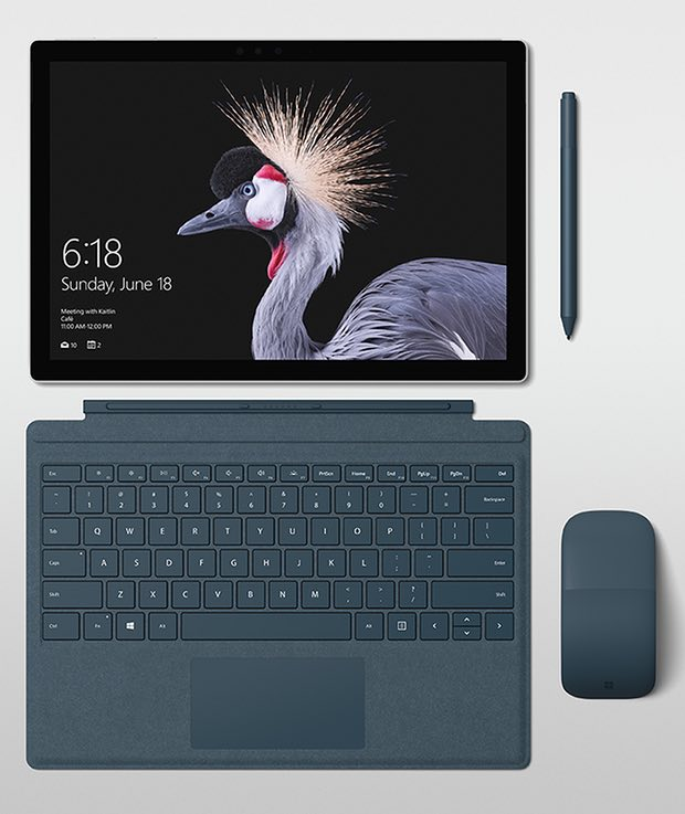 microsoft gives ayet nother reason to get the Surface Pro 2017 images
