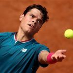 milos raonic french open 2017