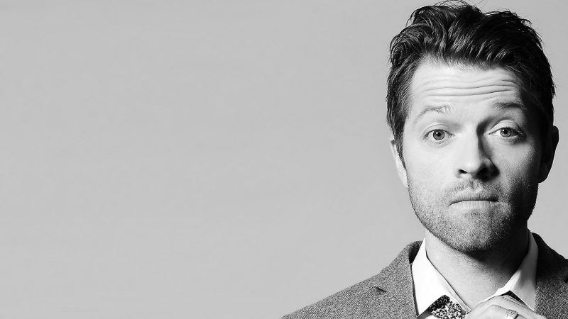 misha collins black white movie tv tech geeks interview