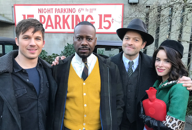 misha collins on timeless movie tv tech geeks