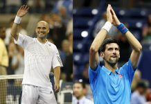 novak djokovic shaking things up at french open with andre agassi 2017