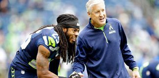 pete carroll debunks those richard sherman trade rumors 2017 images
