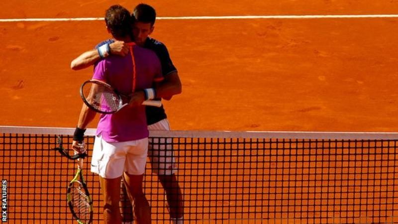 rafael nadal beats off novak djokovic in madrid atp