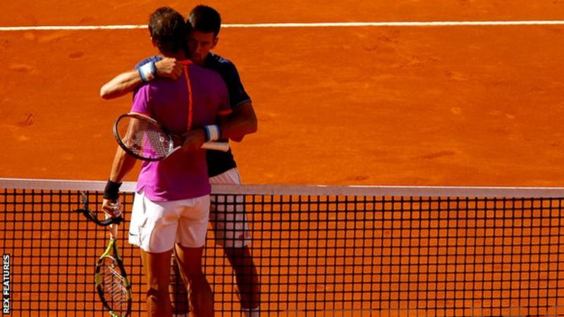 rafeal nadals moves to madrid finals after djokovic win 2017