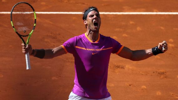 rafael nadal heads to madrid final after beating novak djokovic