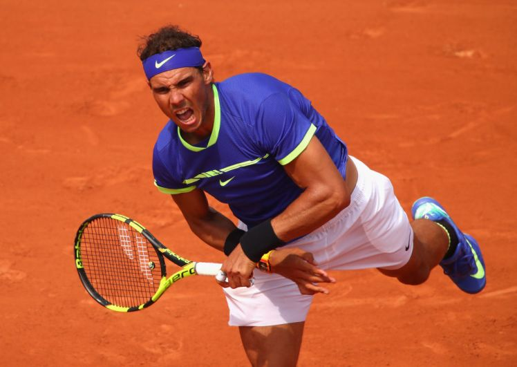 rafeal nadal wins french open round