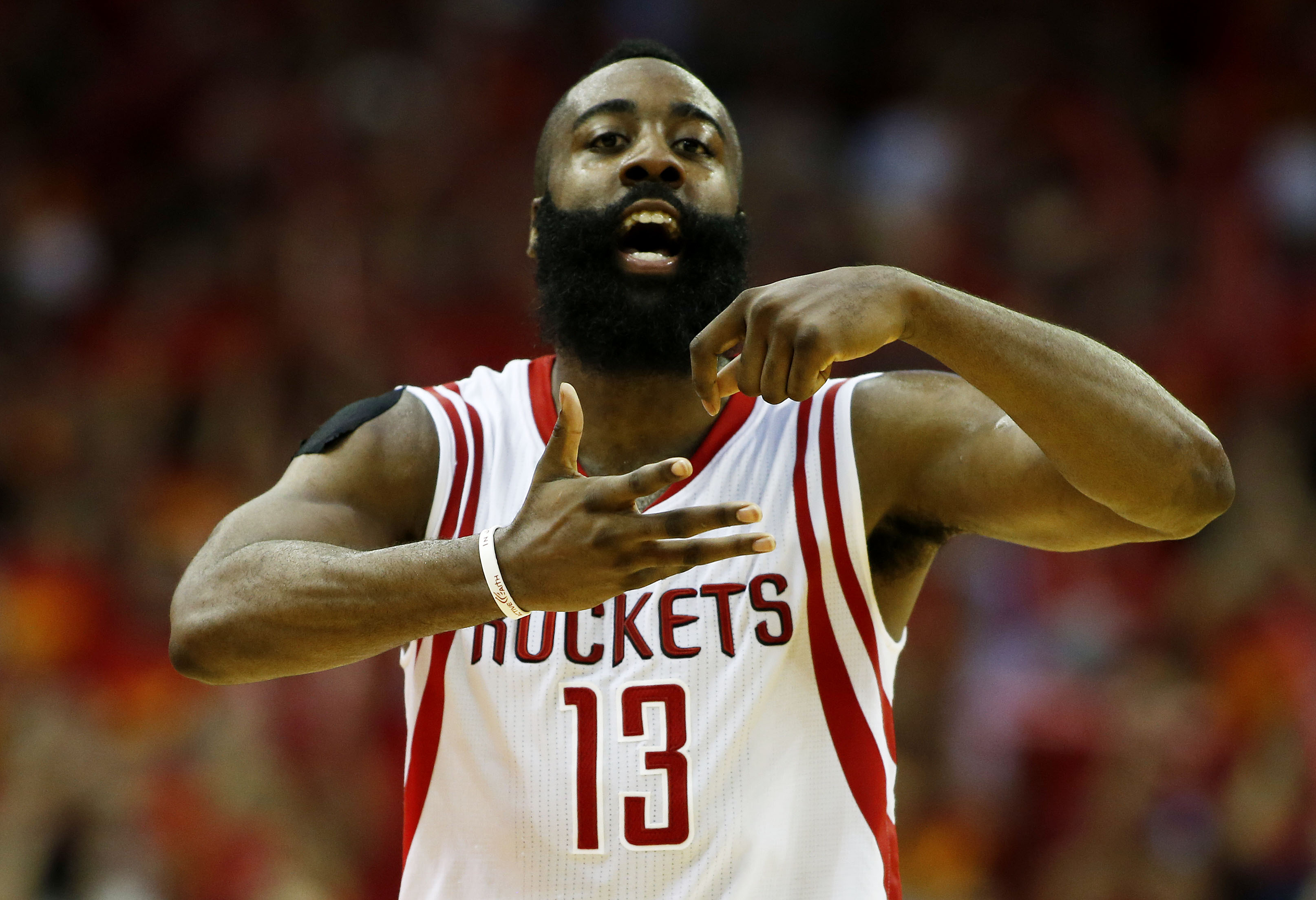 james harden has a tough rockets season ender 2017 images