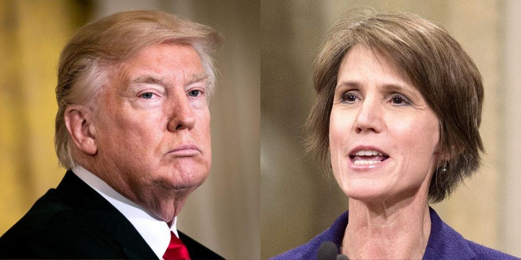 sally yates testifies and donald trump distract with afghanistan 2017 images