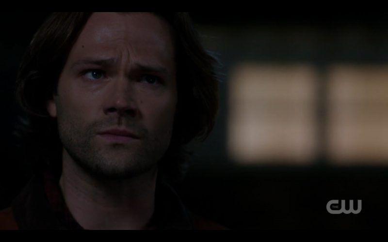 sam winchester sad over supernatural castiel dying