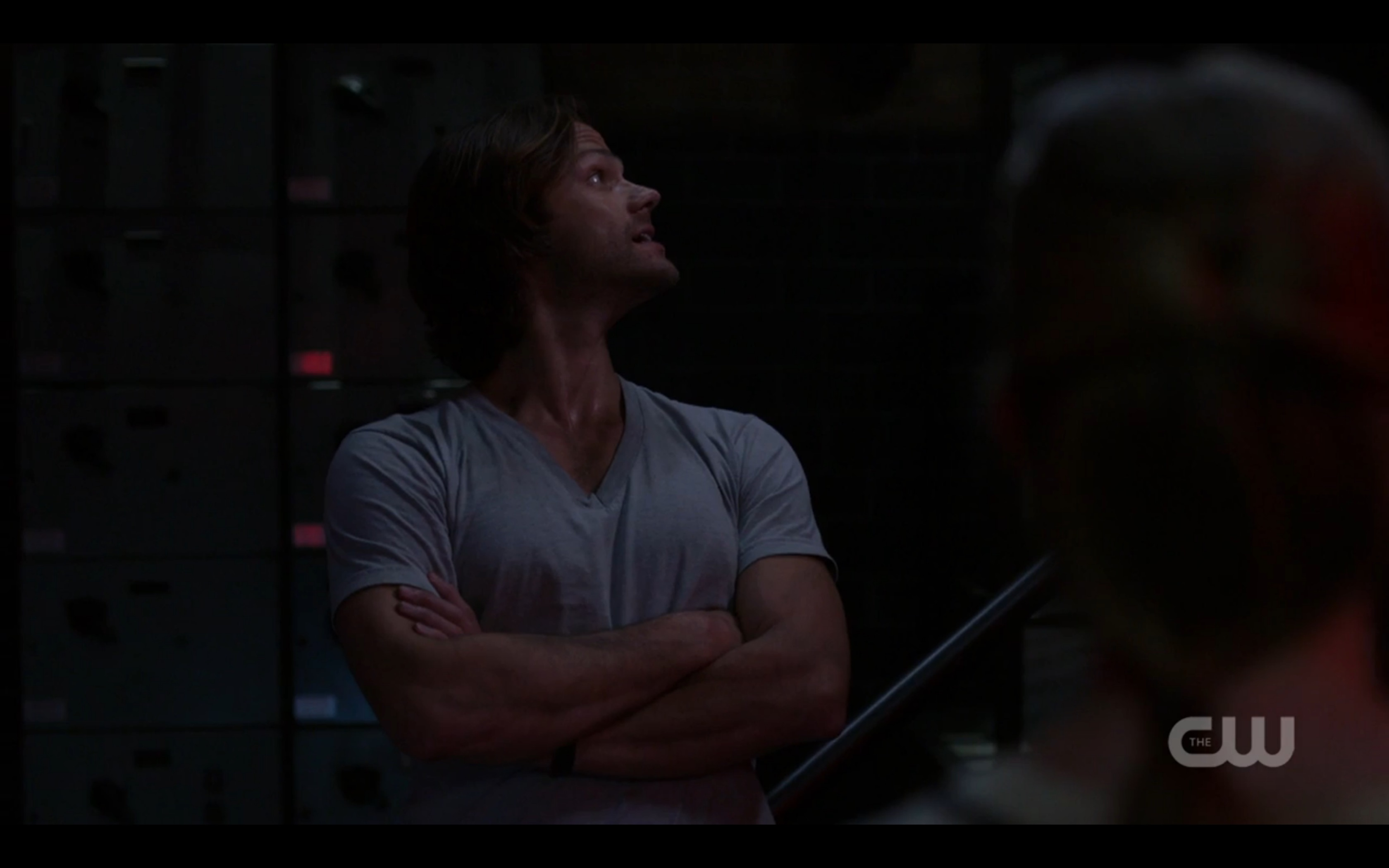 supernatural sam winchester brething heavy naughty stuff