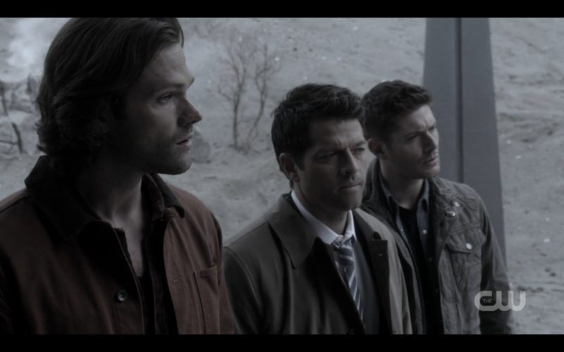 supernatural bobby with winchester castiel