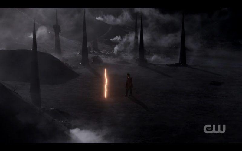 supernatural castiel heads through portal