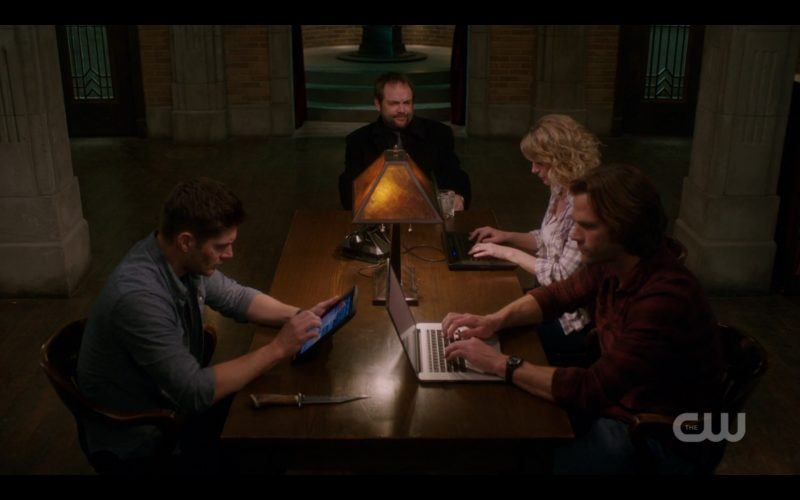 supernatural crowley table time with winchesters