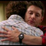 supernatural dean sam winchester bulge hug tight who we are