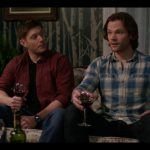 supernatural dean sam winchester with red wine 1220 twigs