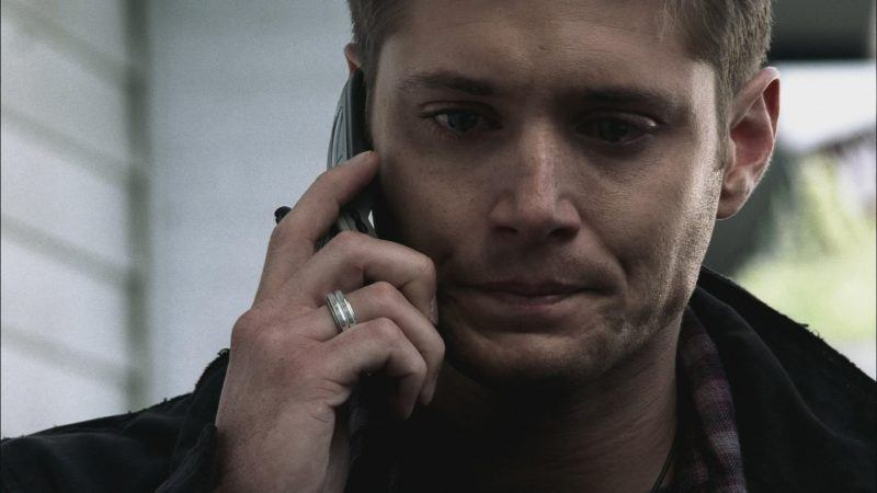supernatural dean winchester 1220 pursing lips over mommy twigs