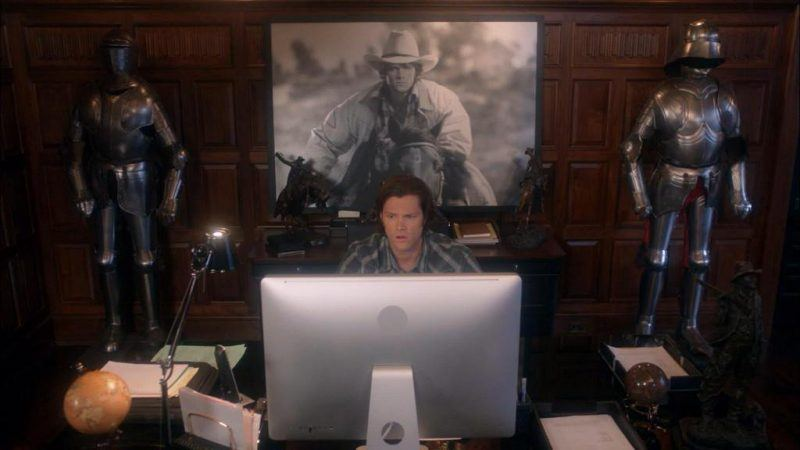 supernatural jared padalecki french mistake nicole baer movie tv tech