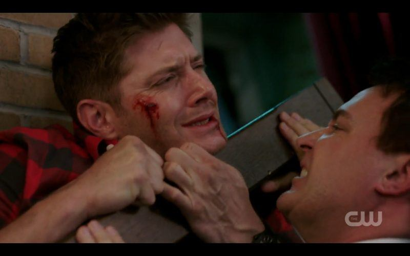 supernatural ketch fights dean winchester bloody face