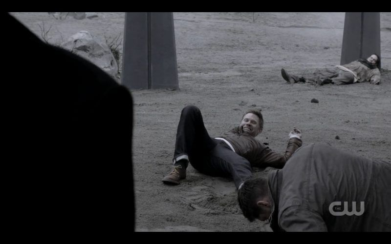 supernatural lucifer falls down from crowley