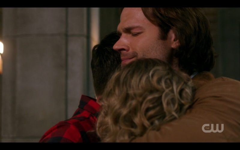 supernatural sam hugs dean and mary