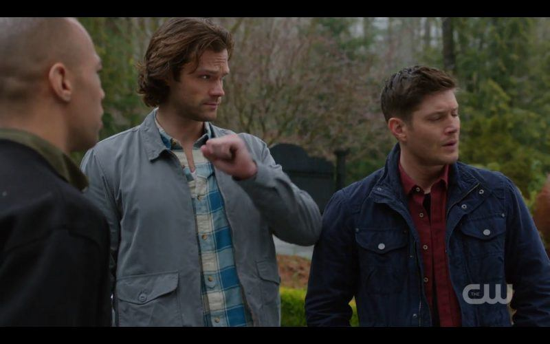 supernatural sam winchester ending wave with dean and max 1220