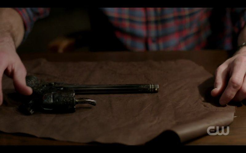 supernatural sam winchester with colt 1220 twigs