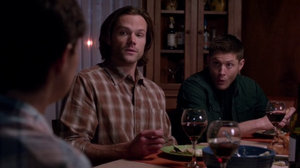 supernatural thanksgiving dinner winchester brothers