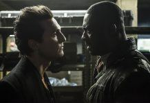 Matthew McConaughey with Idris Elba in the dark tower movie