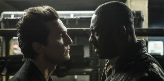 Matthew McConaughey with Idris Elba in the dark tower movie