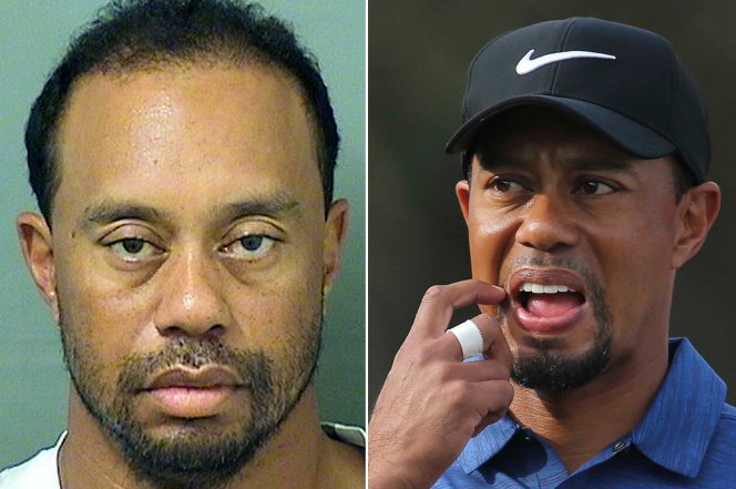tiger woods dui not alcohol related 2017 images
