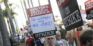 wga strike hitting hollywood movies tv