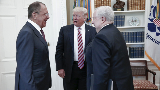 what donald trump shared with russians in oval office