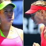 will maria sharapova go up against eugenie bouchard in madrid wta