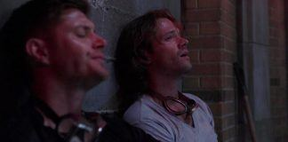winchester brothers sweathy hot bulge drunk