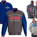 Chicago cubs world series jacket 2017