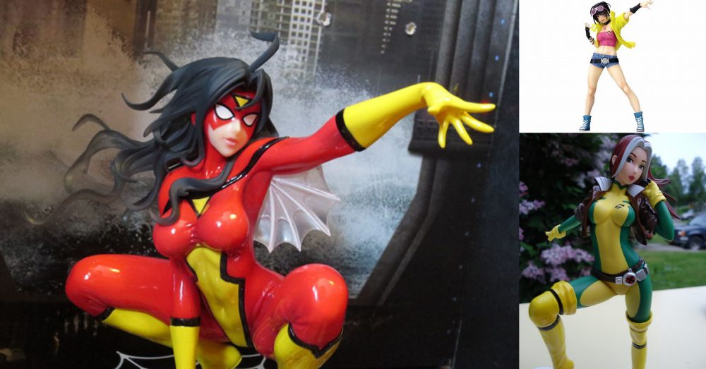 Kotobukiya Bishoujo Spider Woman real close