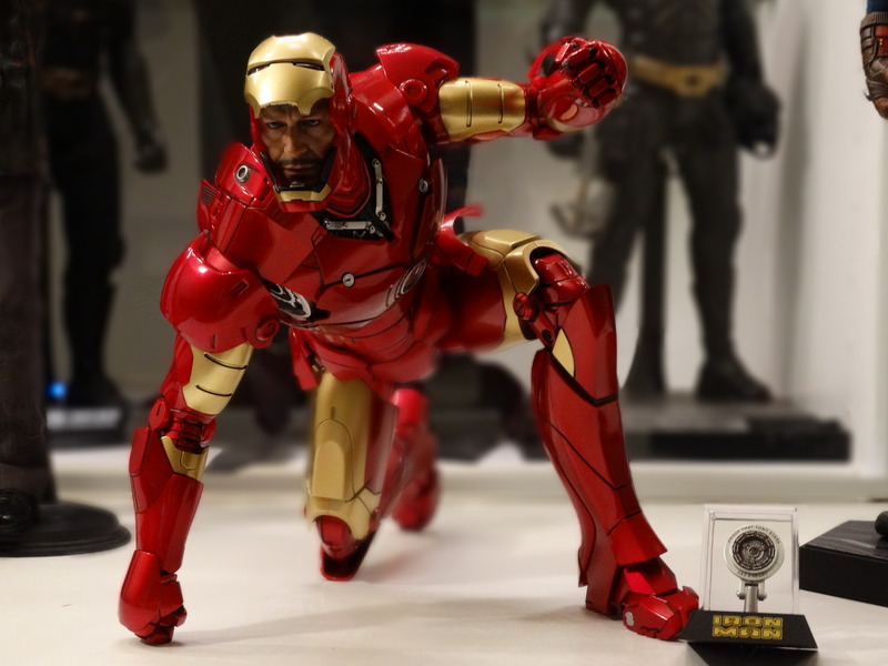 Iron Man Mark III Die Cast Production Version action figure