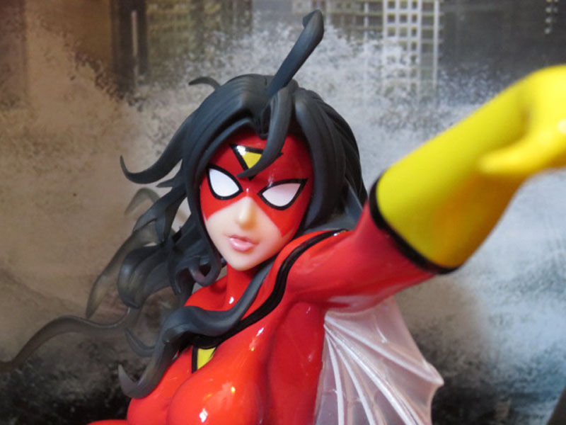 Kotobukiya Bishoujo Spider Woman face up wings