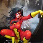 Kotobukiya Bishoujo Spider Woman real close